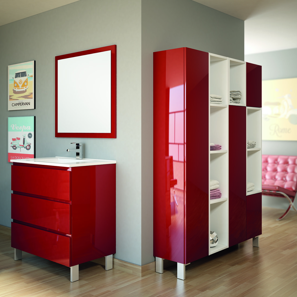 Muebles de ba o con trazos de l neas perfectas creando for Muebles decoracion hogar