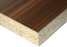 Panel de aglomerado de partículas de madera