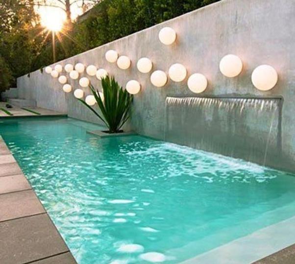 Desarrollo de piscinas de bajo consumo